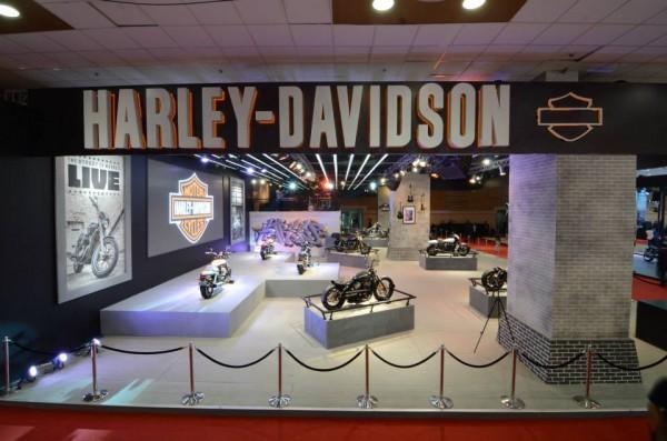 Harley Davidson @ Auto expo