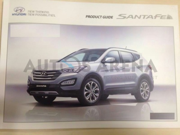 Hyundai Santa Fe brochure 1