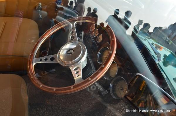 Mini 1275 steering