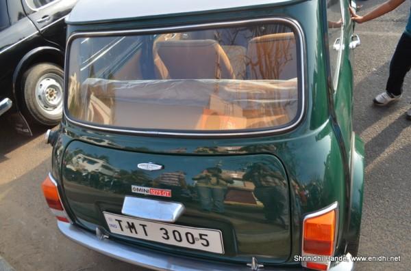 Mini 1275GT rear