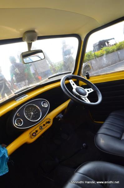 Morris minor interiors