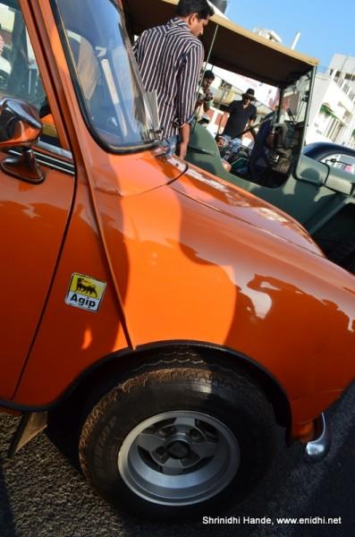 Oraange cooper tyres