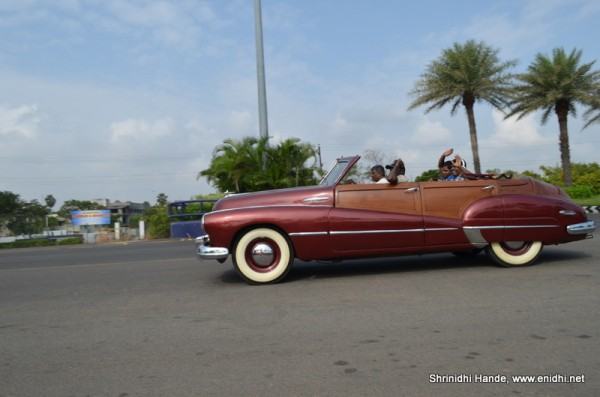 buick eight on the move