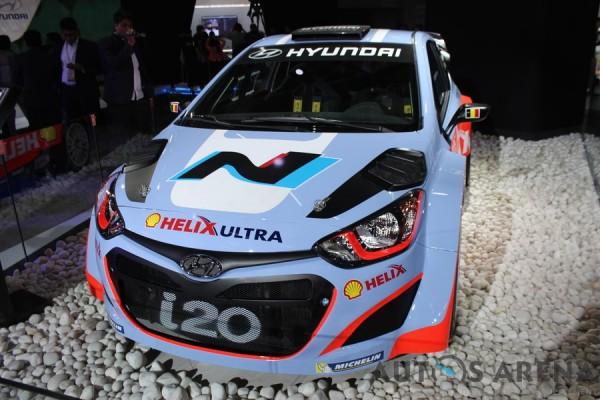 i20 WRC @ Auto Expo
