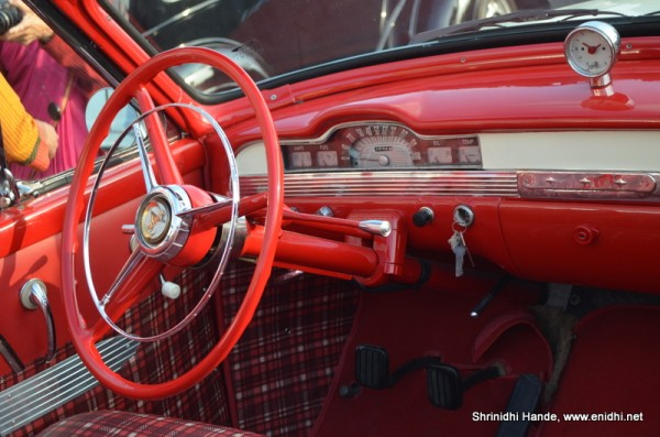 interiors of a dodge kingsway