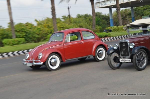 volkswagen beetle in action