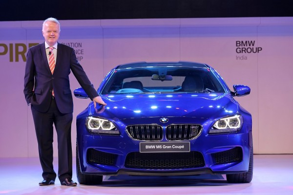 05  Mr. Philipp von Sahr, President, BMW Group India with the all-new BMW M6 Gran Coupe