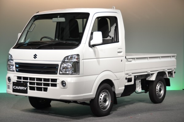2014-Suzuki-Carry with diesel engine
