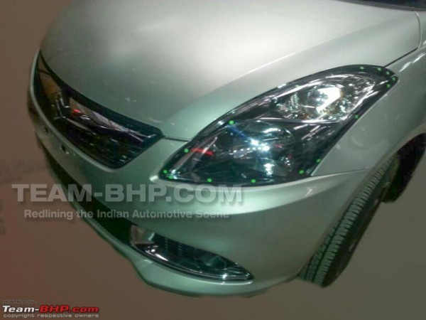 Maruti Suzuki Dzire facelift spy pics 1