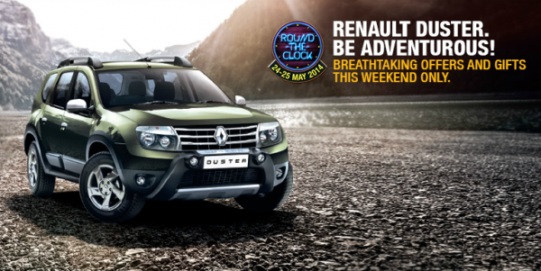 Renault India Announces - Round the Clock Duster