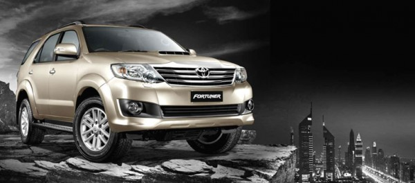 Toyota Fortuner new variants
