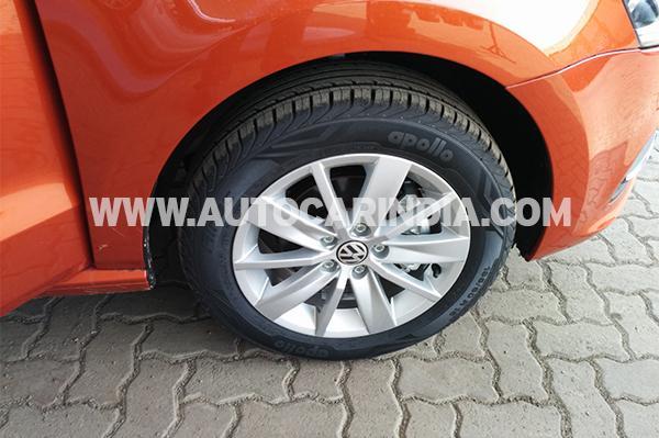 2014 Polo Facelift alloy wheels