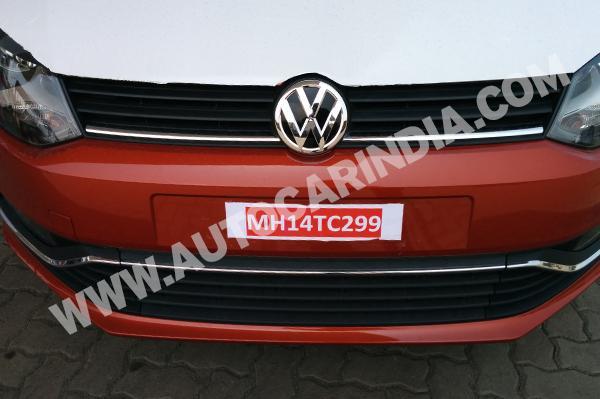 2014 Polo Facelift front bumper