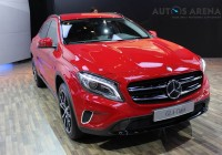 Mercedes-Benz GLA caught testing