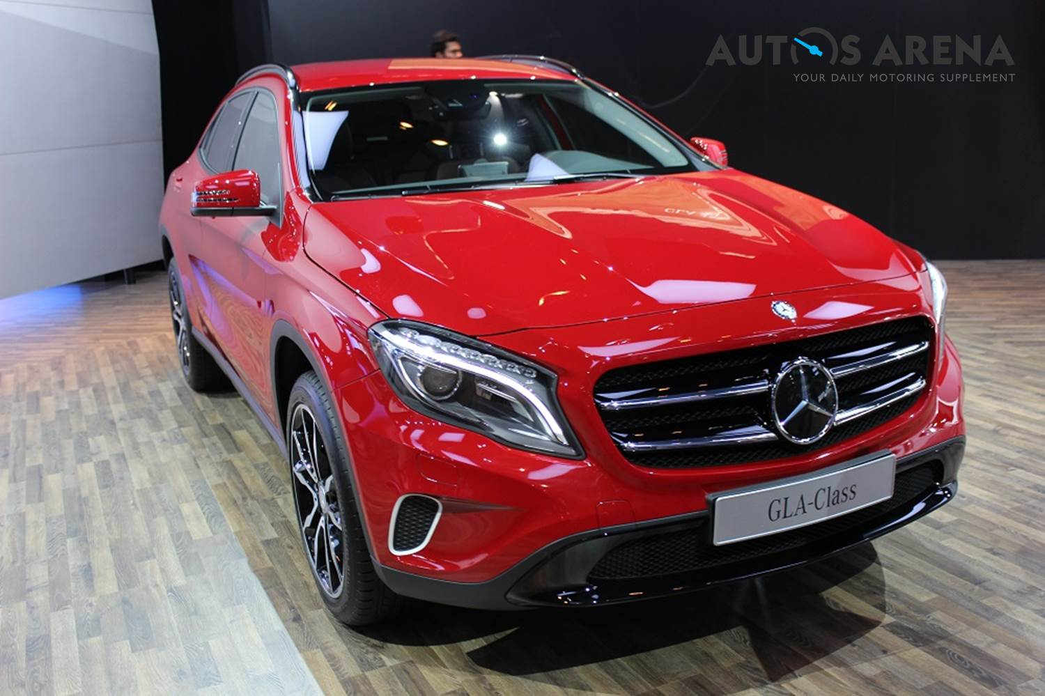 mercedes benz gla class spied in india