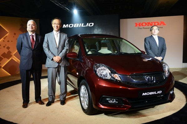 Launch of Honda Mobilio 1