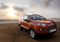 Ford EcoSport 100,000 sales milestone