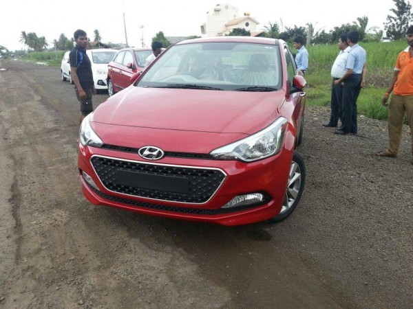 New i20 Red Front