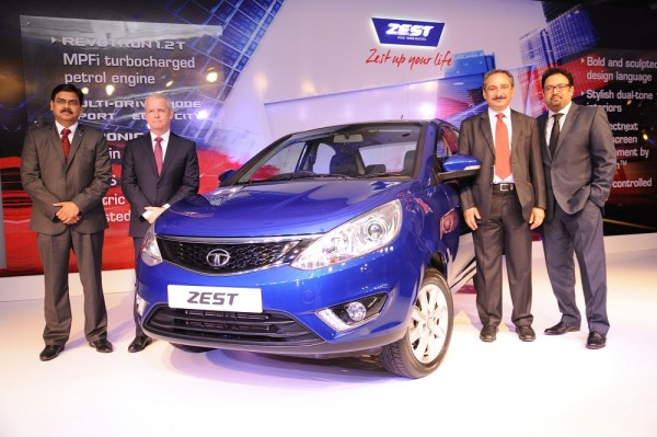 Tata Zest launch