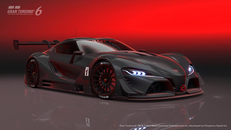 Hot Sexy Toyota F1 Vision Gran Turismo Revealed