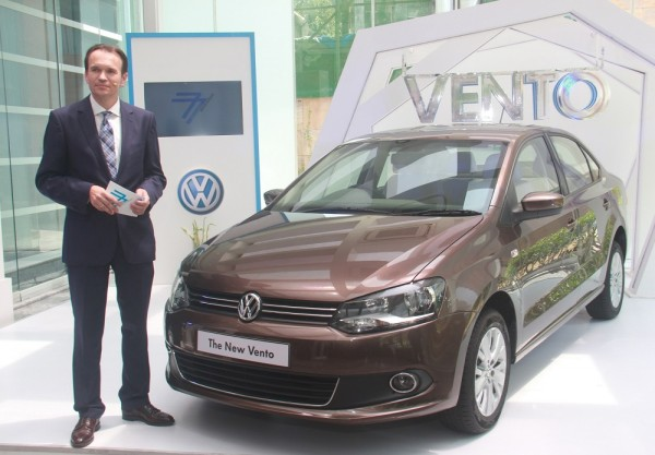 Mr. Michael Mayer, Director, Volkswagen Passenger Cars at the launch of New Volkswagen Vento 1.5 TDI with DSG (2)