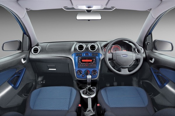 Refreshed Ford Figo_Interior