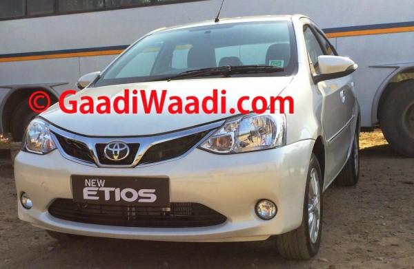 Etios facelift front 2