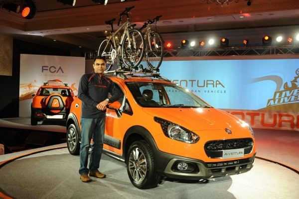 FIAT Avventura launch - Nagesh Basavanhalli, President & MD, FIAT India at the global launch of Avventura