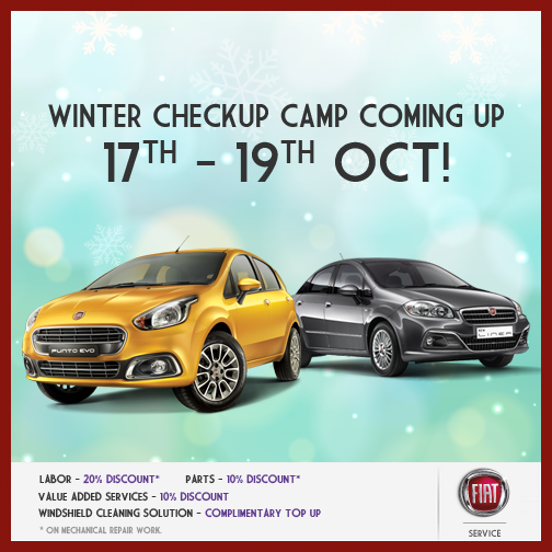 FIAT Winter check-up