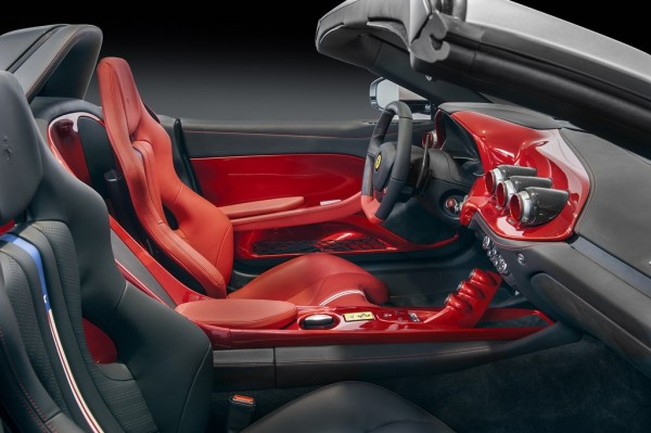 Ferrari F60America Pininfarina interior