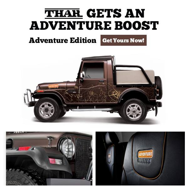 Mahindra Thar Adventure Edition