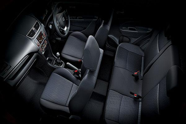 Maruti Swift Facelift interior