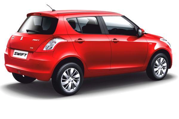 Maruti Swift Facelift rear