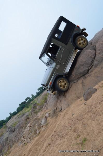 Rock adventure offroad mahindra thar