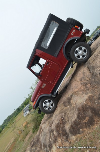 one more adveneture off road mahidra thar 4x4