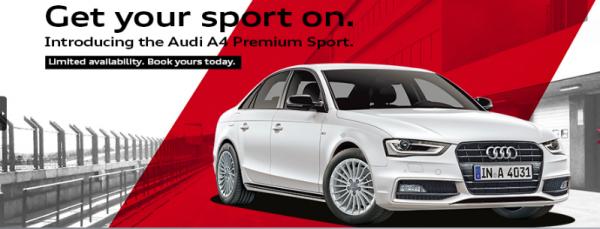 Audi A4 Premium Sport Banner