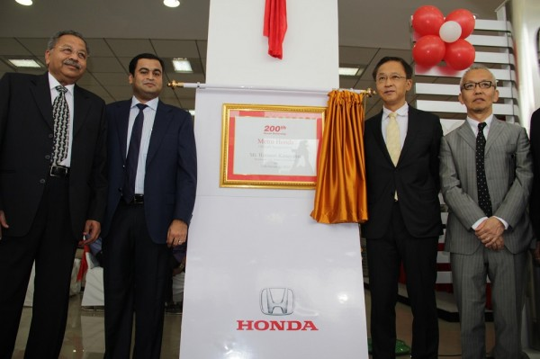 Honda Cars India expands its network with inauguration of 200th dealership in India