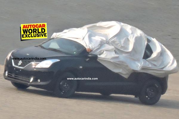 Maruti Suzuki YRA hatch testing