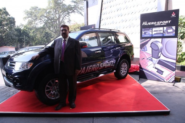 Mitsubishi Pajero Sport Automatic launch