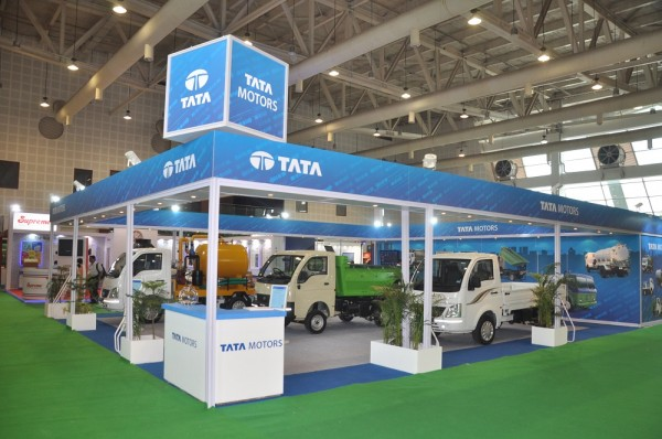 Tata Motors Limited showcases new products at Municipalika 2014