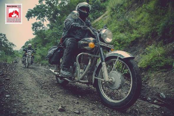 The final leg of Royal Enfield's Tour of Nepal 2014-riders on their journey from Kathmandu to Pokhara.
