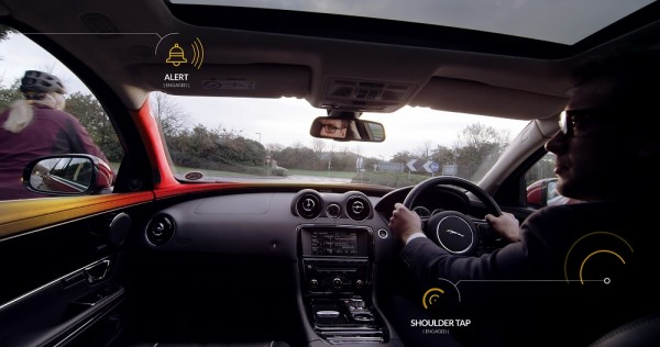 Jaguar Landrover Bike-Sense-cyclist-red-alert