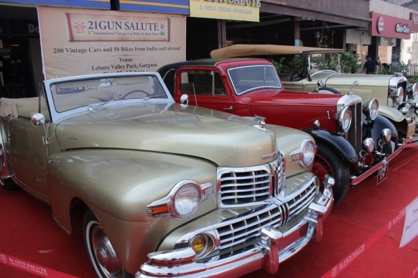 5th edition of 21 Gun Salute International Vintage Car Rally & Concours Auto Show 1
