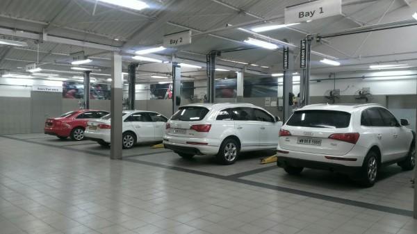 Audi Kolkata Workshop
