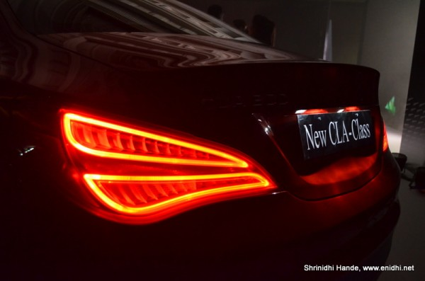 CLA class tail lamp assembly