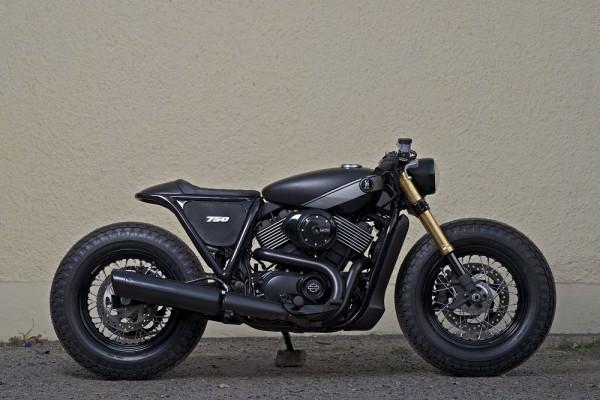Custom Harley-Davidson Street 750 by RCM - Phase 1 (2)
