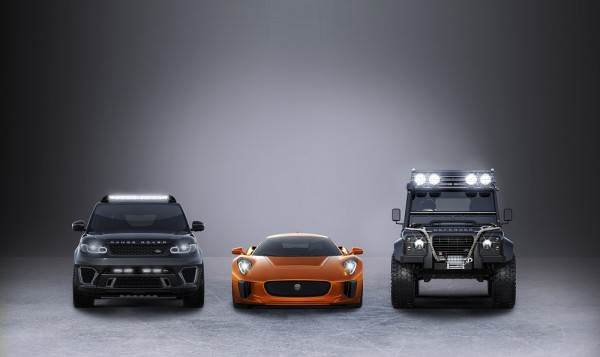 Jaguar And Land Rover Announce Partnership With SPECTRE
