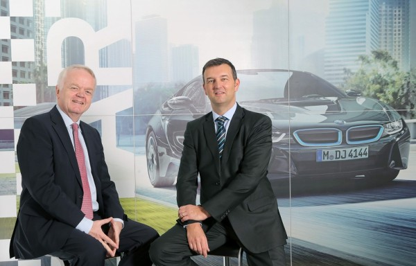 (L - R) Mr. Philipp von Sahr, President, BMW Group India with Mr. Robert Frittrang, MD, BMW Plant Chennai (1)