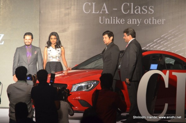 MB CLA class unveiled in Chennai