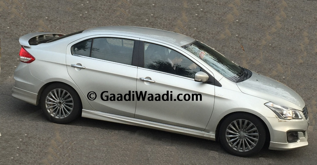Maruti Suzuki Planning To Launch Sportier Ciaz Rs With
